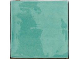 PROVENZA VERDE OCEANO Brillo 10x10 - 13X13 cm, wall tiles kitchen, tiled jagged edges