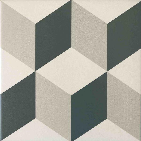 Floor and wall tiling aspect cx ciment paris 18e 20x20 for Carrelage 20x20