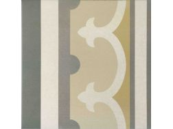 Paris 5e border 20x20, Imitation tile cement tiles, Tiles