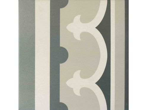 Paris 1er border 20x20, Imitation tile cement tiles, Tiles