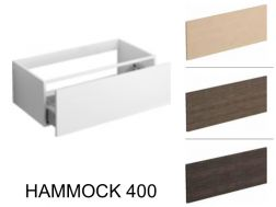 Bathroom cabinet, drawer cabinets Hammock 400 - Clou