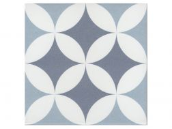 GILLES OCEAN 20x20 - Floor tile with cement tiles, porcelain.