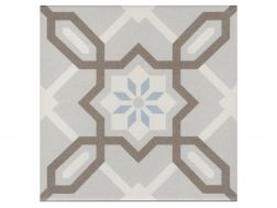 LIV 20x20 - Floor tile with cement tiles, porcelain.