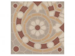 MALO 20x20 - Floor tile with cement tiles, porcelain.