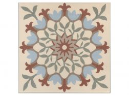 CLEA 20x20 - Floor tile with cement tiles, porcelain.