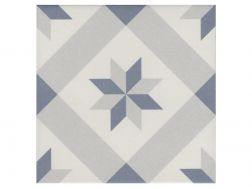 DORI 20x20 - Floor tile with cement tiles, porcelain.