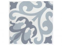 FITOU OCEAN 20x20 - Floor tile with cement tiles, porcelain.