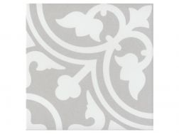 FLAVIE GRIS 20x20 - Floor tile with cement tiles, porcelain.