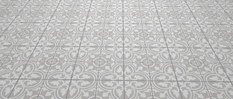 Floor And Wall Tiling Aspect Cx Ciment Flavie Gris