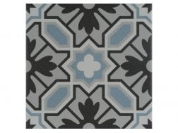 EMILE 20x20 - Floor tile with cement tiles, porcelain.