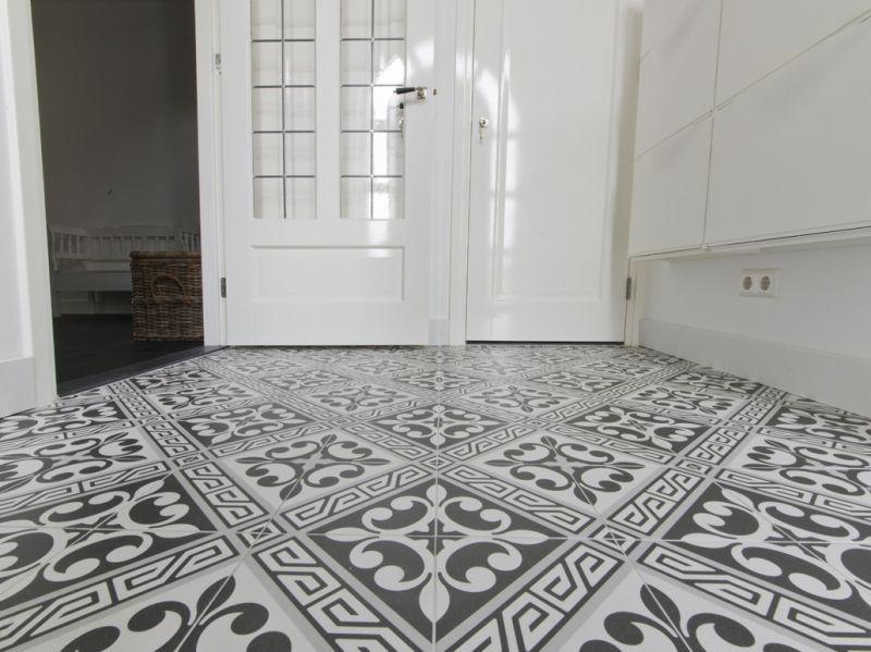 Floor and wall tiling. Aspect Cx. Ciment - JULIETTE GRIS 20x20 ...