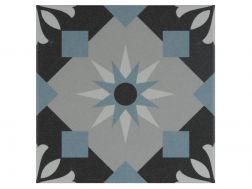 HENRI 20x20 - Floor tile with cement tiles, porcelain.