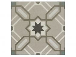 ODIE 20x20 - Floor tile with cement tiles, porcelain.