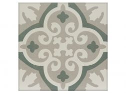 ANCELINA 20x20 - Floor tile with cement tiles, porcelain.