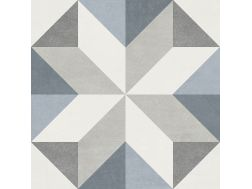 GINA 15X15 - Floor tile with cement tiles, porcelain.