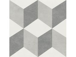 BRINA 15X15 - Floor tile with cement tiles, porcelain.