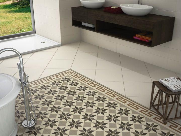 Floor and wall tiling. Aspect Cx. Ciment - SISAL NOW 20x20 - Floor ...