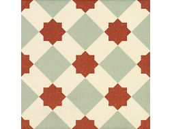 KALEIDOSCOPE TERRA 20x20 - Floor tile with cement tiles.