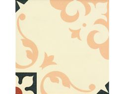 SALONE BEIGE 20x20 - Floor tile with cement tiles.