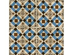 FS-4 45x45 - Floor tile with cement tiles.