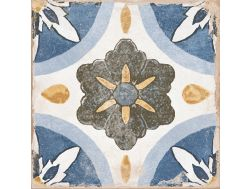 LENOS MIRTOS 22,3X22,3 - Floor tile with cement tiles, porcelain.