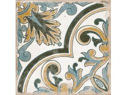 LENOS TRIESTE 22,3X22,3 - Floor tile with cement tiles, porcelain.
