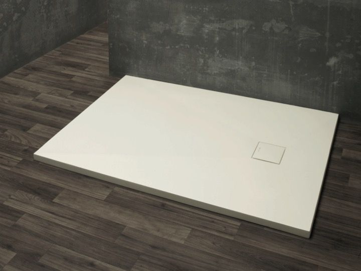 Shower Tray Type Corian, In Mineral Resin Solid Surface   DILOS