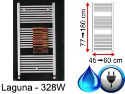 Towel dryer 328 Watt, mixed, small and large dissension - Laguna SCIROCCO