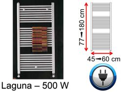 500 Watt towel dryer, small and large dissension - Laguna SCIROCCO