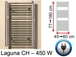450 Watt towel dryer, small and large dissension - Laguna SCIROCCO