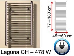 478 Watt towel dryer, small and large dissension - Laguna SCIROCCO