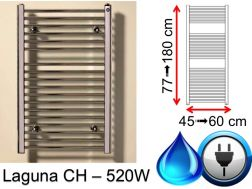 Towel dryer 520 Watt, mixed, small and large dissension - Laguna SCIROCCO