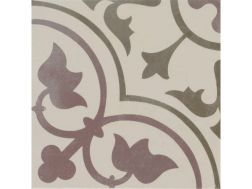 Pictural 5 -  22x22 - Floor tile with cement tiles, porcelain.