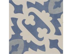 Pictural 7 -  22x22 - Floor tile with cement tiles, porcelain.