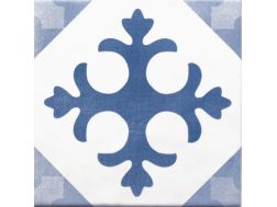ATELIER LATIN AZUL 15x15 - cement tile look tile