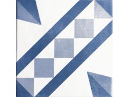 ATELIER VENDOME AZUL 15 x 15 - cement tile look tile