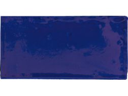 ANTIC COBALTO 7,5 x 15 - Kitchen wall tile, faience with irregular edges.