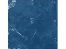 SOUK BLUE 13 x 13 cm cracked - earthenware tiles, the Oriental style, Moorish or Zellig