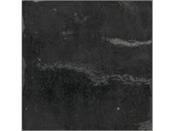 SOUK BLACK 13 x 13 cm cracked - earthenware tiles, the Oriental style, Moorish or Zellig