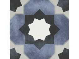 JANETTE 15X15 - Floor tile with cement tiles, porcelain.