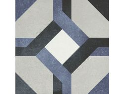 LAURE 15X15 - Floor tile with cement tiles, porcelain.
