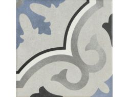 LOU-LOU 15X15 - Floor tile with cement tiles, porcelain.