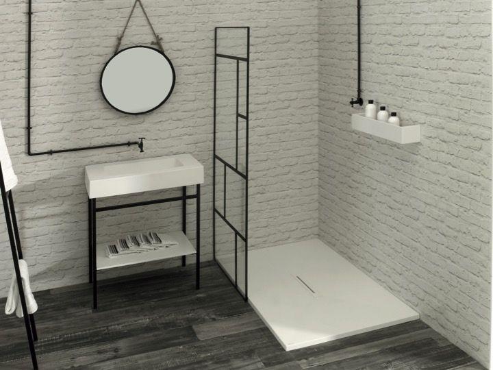 Bathroom furniture, sink, washbasins Meuble SDB - Art-deco black ...