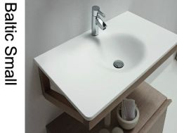 Solid Surface Resin Washbasin Corian - Baltic small.