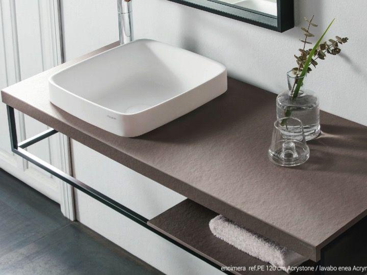 Design toilet seat on black art deco steel support in solid