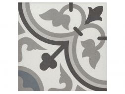 GEORGE BLEU 20x20 - Floor tile with cement tiles, porcelain.