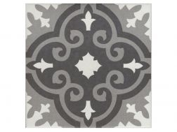 THEO 20x20 - Floor tile with cement tiles, porcelain.