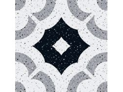 MANUAL Decor. no 2 - 13x13 - Tile, speckled cement tile look - Estilker
