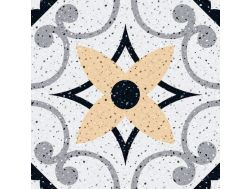 MANUAL Decor. no 3 - 13x13 - Tile, speckled cement tile look - Estilker