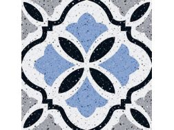 MANUAL Decor. no 4 - 13x13 - Tile, speckled cement tile look - Estilker